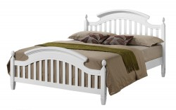 White Zara Bed Frame