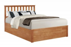 Wooden Ottoman Bed Frame Stanley